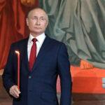 Президент России В.В. Путин поздравил Святейшего Патриарха Кирилла и граждан России с праздником Пасхи