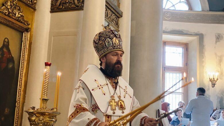 Митрополит Иларион: Церковь – мой источник вдохновения