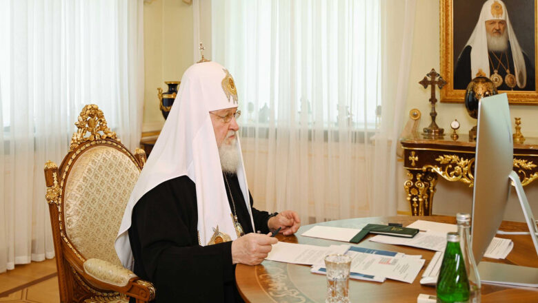 Святейший Патриарх Кирилл провел заседание Высшего Церковного Совета
